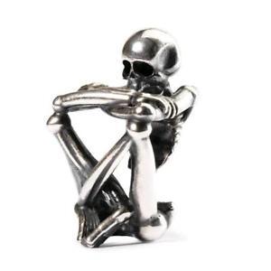 【送料無料】ブレスレット アクセサリ― オリジナルビーズシルバースピリットスケルトンtrollbeads original beads silver spirit skeleton tagbe 50021