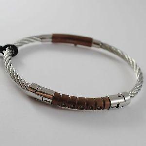 【送料無料】ブレスレット アクセサリ― メンズブレスレットスチールチェーザレmens bracelet steel rigid braided cesare paciotti 4us 4ubr1393