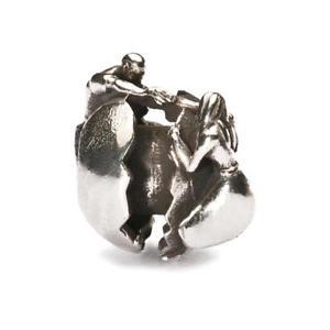 【送料無料】ブレスレット アクセサリ― オリジナルビーズシルバーボンドtrollbeads original beads silver love bond tagbe 40036