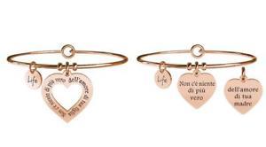 【送料無料】ブレスレット アクセサリ― ブレスレットスチールyoung adult set of two bracelets steel family momdaughter true love 731099