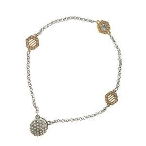 【送料無料】ブレスレット アクセサリ― swarovskiブレスレットミラーボールモチーフswarovski  bracelet mirror ball motif metal