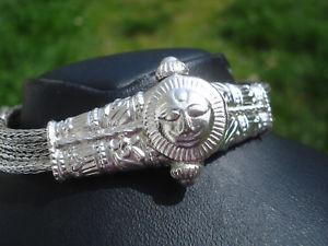 【送料無料】ブレスレット アクセサリ― ブレスレットオールドシルバーサンメッシュbeautiful bracelet old silversunmesh flexible