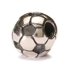 【送料無料】ブレスレット アクセサリ― オリジナルビーズシルバーサッカーボールtrollbeads original beads silver soccer ball tagbe 50006