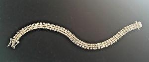 【送料無料】ブレスレット アクセサリ― スターリングシルバースタイリッシュブレスレットbrand technibond 925 sterling silver stylish bracelet 675 length