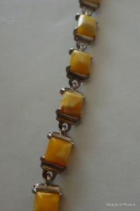 【送料無料】ブレスレット アクセサリ― オレンジスターリングシルバーブレスレットbaltic butterscotch amber sterling silver bracelet women rare