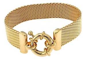 【送料無料】ブレスレット アクセサリ― ブレスレットチェーンゴールドイタリアbracelet milanaise chain gold doubl or plated men women jewelry tendenze italy