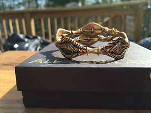 【送料無料】ブレスレット アクセサリ― アレックスビンテージインディーズビーズロシアゴールドラップブレスレット alex and ani vintage 66 indie spirit beaded russian gold wrap bracelet
