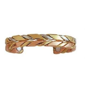 【送料無料】ブレスレット アクセサリ― セルジオカフブレスレットハンドメイドアメリカhorseman sergio lub copper magnetic therapy cuff bracelet handmade in usa