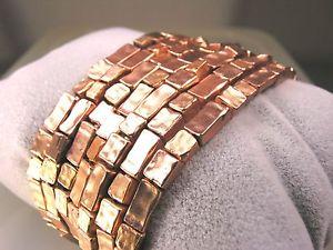 【送料無料】ブレスレット アクセサリ― スルタンローズゴールドビーズフリーブレスレットkarine sultan seven individual bracelets of hammered rose gold beads free ship