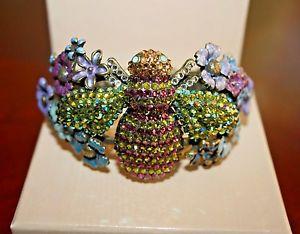 【送料無料】ブレスレット アクセサリ― ラインストーンボックスエナメルカフブレスレットkirks folly to bee or not to bee rhinestone enameled cuff bracelet in box