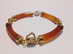 【送料無料】ブレスレット アクセサリ― カネブレスレットクラスプビンテージインチcarnelian bracelet with clasp vintage 7 inch 18cm