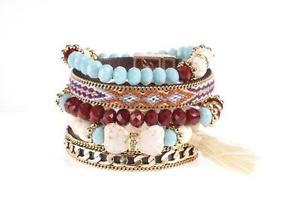 【送料無料】ブレスレット アクセサリ― ビビブレスレットbibi bijoux 5 mixed bracelets  bnwt