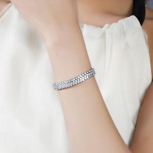 【送料無料】ブレスレット アクセサリ― キラキリアホワイトジルコンテニスアジャスタブルブレスレットブライダルsparkling clear white zircon tennis adjustable bracelet gold plated bridal gift