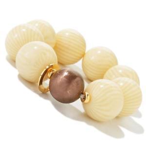 【送料無料】ブレスレット アクセサリ― イタリアフィオレンティーナインカントビーズブレスレットinvicta ij10020 made in italy fiorentina incanto resin bead bracelet