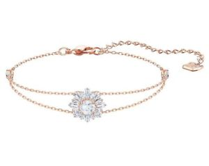 【送料無料】ブレスレット アクセサリ― スワロフスキーサンシャインブレスレットロスクリアswarovski sunshine bracelet, ros clear crystal authentic mib 5451357
