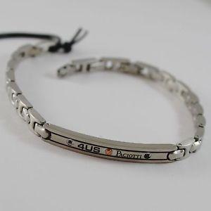 【送料無料】ブレスレット アクセサリ― ステンレススチールブレスレットマットプレートチェーザレstainless steel bracelet matt with plate cesare paciotti 4us item 4ubr1366