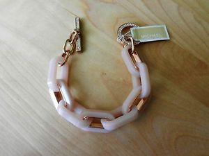 【送料無料】ブレスレット アクセサリ― ミハエルチェーンリンクブレスレットドルオンmichael kors chain link pave toggle bracelet msrp 165