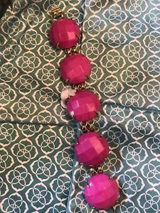 【送料無料】ブレスレット アクセサリ― スコットマジェンタブレスレットkendra scott magenta cassie bracelet