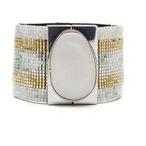 【送料無料】ブレスレット アクセサリ― カフブレスレットサイズcuff bracelet * hipanema * modele hopissize m 17 cm