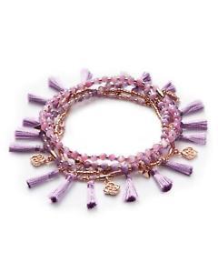 【送料無料】ブレスレット アクセサリ― スコットジュリーローズパールライラックゴールドストレッチブレスレット kendra scott julie rose gold stretch bracelet set in lilac mother of pearl