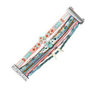 【送料無料】ブレスレット アクセサリ― マルチリンクブレスレット※サイズbrazllian multi links bracelet * hipanema * wapitisize l 19 cm