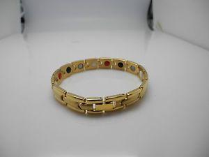 【送料無料】ブレスレット アクセサリ― ユニークデザインエネルギーブレスレットjp passion mens unique design pure natural energy gold bracelet 8 12