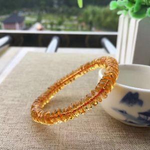 【送料無料】ブレスレット アクセサリ― ×シトリンビーズブレスレット7*3mm natural yellow citrine quartz crystal beads bracelet aaaa