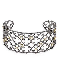 【送料無料】ブレスレット アクセサリ― リベットレースカフブレスレットポーチドルalexis bittar riveted lace cuff bracelet w pouch 195