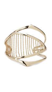 【送料無料】ブレスレット アクセサリ― キネティックカフブレスレットalexis bittar miss havisham kinetic chainribbed cuff bracelet 245 ~