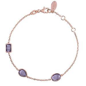 bracelet pink gemstone 【送料無料】ブレスレット アクセサリ― gold multi purple silver rose amethyst ピンクローズゴールドパープルアメジストマルチブレスレットシルバーlatelita 925