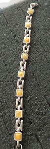 【送料無料】ブレスレット アクセサリ― オレンジブレスレットbaltic butterscotch amber bracelet women rare