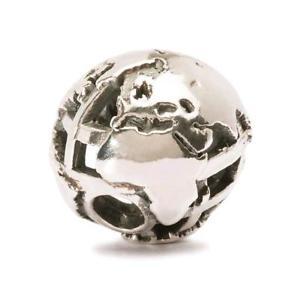 【送料無料】ブレスレット アクセサリ― オリジナルビーズシルバーグローブtrollbeads original beads silver globe uk tagbe 60007