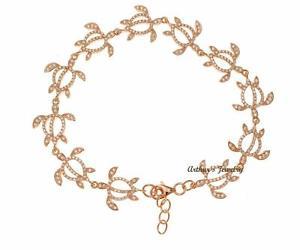 【送料無料】ブレスレット アクセサリ― ローズアルジェントブレスレットplaqu or rose en argent sterling 925 hawaen honu tortue bracelet zircone