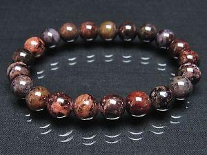 【送料無料】ブレスレット アクセサリ― ラウンドビーズブレスレット9mm rare 3a natural brown sugilite gemstone round beads bracelet gift bl4799