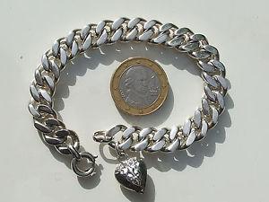 【送料無料】ブレスレット アクセサリ― ブレスレットソリッドシルバーフルレングスグラムbeautiful bracelet old 196070 solid silver full length 19,5cm41gr