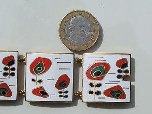 最大の割引 【送料無料】ブレスレット アクセサリ― エナメルブレスレットbeautiful and original bracelet with enamel bracelet original metallength on gold metallength 19,5cm, ツキガタムラ:2c024fe1 --- rishitms.com