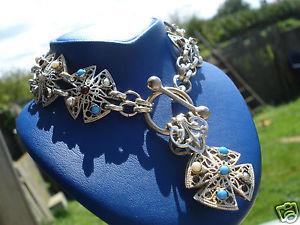 【送料無料】ブレスレット アクセサリ― オリジナルブレスレットクロスbeautiful and original bracelet formerfiligreecross12 pearls and stonescharm