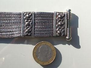【送料無料】ブレスレット アクセサリ― ボーブレスレットシルバーミネルヴァパンチbeau bracelet silver punched minervalength 17,5cmweight 83gr