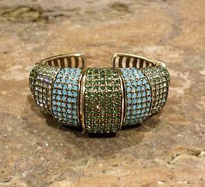 【送料無料】ブレスレット アクセサリ― クリスタルカフブレスレットドルゴージャス listingheidi daus tastefully tiered crystal cuff bracelet ret 209 gorgeous