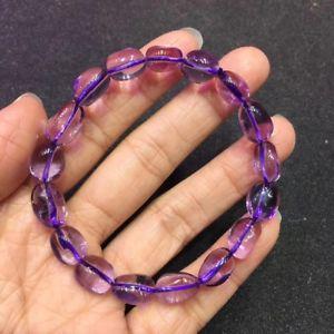 【送料無料】ブレスレット アクセサリ― アメジストヒーリングランダムビーズブレスレットnatural purple amethyst quartz crystal healing random beads wealth bracelet