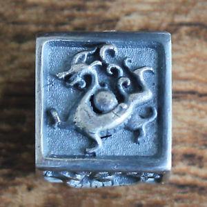 【送料無料】ブレスレット アクセサリ― ブレスレットスターリングシルバーハンドメイドスクエアパンクビーズセントforobb beast bracelet sterling silver handmade square punk bead 60077sistb