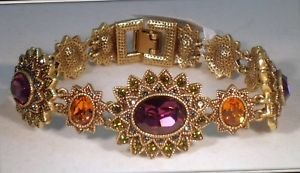 【送料無料】ブレスレット アクセサリ― ハイジクリスタルリンクブレスレットheidi daus flame crystal link bracelet