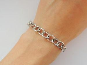 【送料無料】ブレスレット アクセサリ― ビンテージボックスチェーンブレスレットスターリングシルバーウクライナvintage chain bracelet sterling silver 925 charm women ukrainian jewelry in box