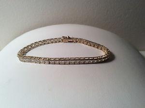 【送料無料】ブレスレット アクセサリ― スターリングリゾーツスターリングシルバーブレスレットプリンセスカットsterling silver bracelet w49 princess cut czs  free shipping