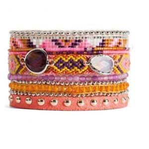 【送料無料】ブレスレット アクセサリ― マルチリンクブレスレットコレクションサイズmultilink bracelet * hipanema * collection nasturtiumsize m 18 cm