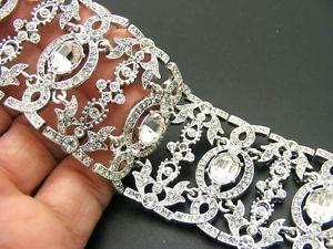 【送料無料】ブレスレット アクセサリ― ドルアンジェリカチェコクリスタルラインストーンブレスレットワイド155 nina *angelica* czech crystal rhinestone bracelet silver plated 1 12 wide