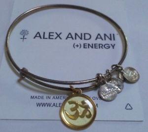 【送料無料】ブレスレット アクセサリ― アレックスロシアブレスレットalex and ani om rare retired gold russian silver expandable bracelet