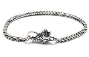 【送料無料】ブレスレット アクセサリ― ブレスレットカットtrollbeads bracelet start fish or cut bait silver taglo 00042 br