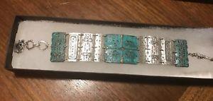 【送料無料】ブレスレット アクセサリ― スターリングシルバーブレスレットアーチファクトトグルsilpada sterling silver artifact bracelet b2832 patina brass green large toggle