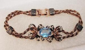 【送料無料】ブレスレット アクセサリ― アメジストoma19シルバー925ブレスレットantique bracelet in silver 925 with amethyst oma19